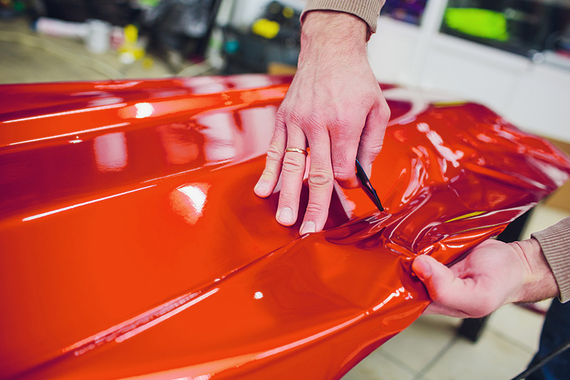 wrapping di adesivi auto rimini
